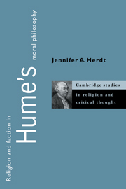 Religion and Faction in Hume's Moral Philosophy