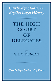 The High Court of Delegates