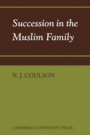 Succession in the Muslim Family