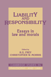 Liability and Responsibility