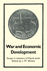 War and Economic Development