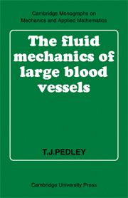 The Fluid Mechanics of Large Blood Vessels
