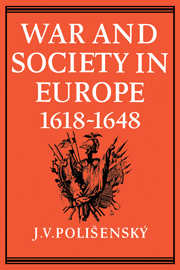 War and Society in Europe 1618–1648