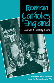 Roman Catholics in England