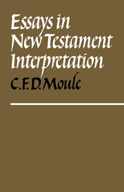 Essays in New Testament Interpretation