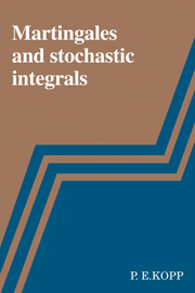 Martingales and Stochastic Integrals