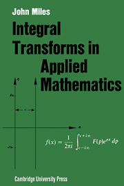Integral Transforms in Applied Mathematics