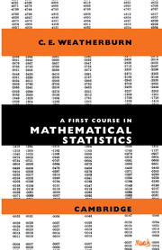 A First Course Mathematical Statistics