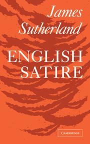 English Satire English Literature General Interest Cambridge