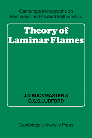 Theory of Laminar Flames