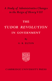 Tudor Revolution in Government