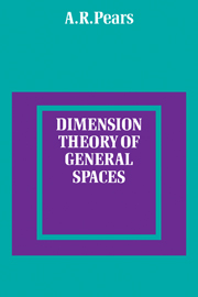 Dimension Theory of General Spaces