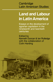 Land and Labour  in Latin America