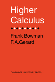 Higher Calculus