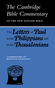 Letters of Paul to the Philippians and to the Thessalonians