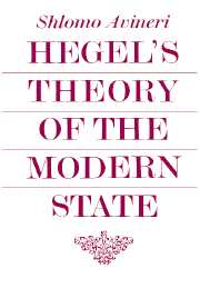 Hegel's Theory of the Modern State