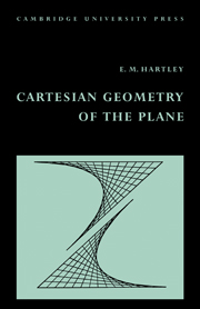 Cartesian Geometry of the Plane