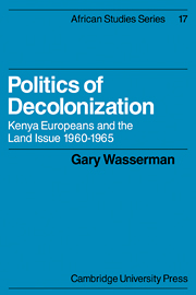 Politics of Decolonization