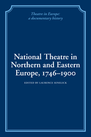 National Theatre in Northern and Eastern Europe, 1746–1900