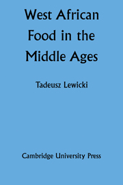 West African Food in the Middle Ages