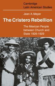 The Cristero Rebellion