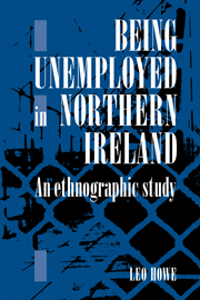 Being Unemployed in Northern Ireland