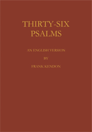 Thirty Six Psalms