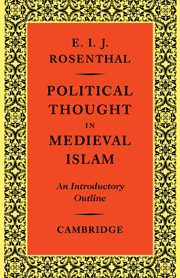 Political Thought in Medieval Islam