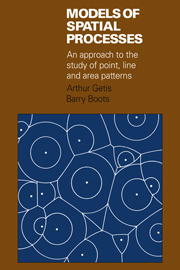 Models of Spatial Processes