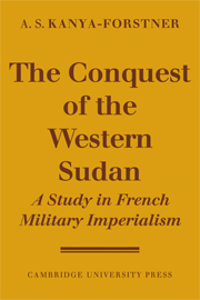 The Conquest of Western Sudan