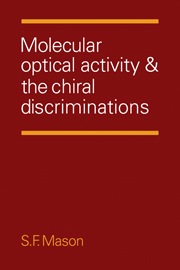 Molecular Optical Activity and the Chiral Discriminations