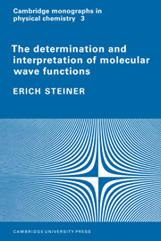 The Determination and Interpretation of Molecular Wave Functions