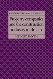 Property Companies and the Construction Industry in Britain