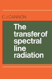 The Transfer of Spectral Line Radiation