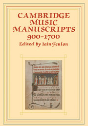 Cambridge Music Manuscripts, 900–1700