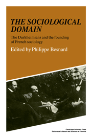 The Sociological Domain