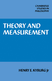 Theory and Measurement