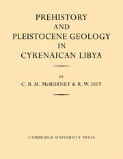 Prehistory and Pleistocene Geology in Cyrenaican Libya