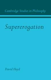 Supererogation