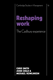 Reshaping Work
