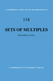 Sets of Multiples