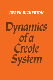 Dynamics of a Creole System