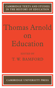 Thomas Arnold on Education