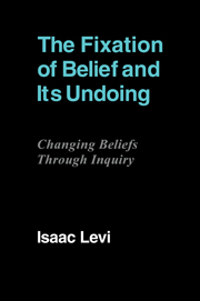 The Fixation of Belief and its Undoing