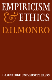 Empiricism and Ethics
