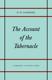 The Account of the Tabernacle