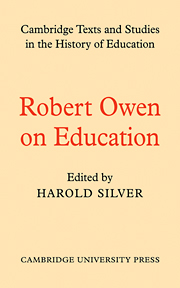 Robert Owen on Education