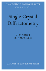 Single Crystal Diffractometry