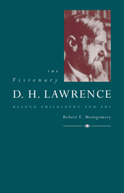 The Visionary D. H. Lawrence