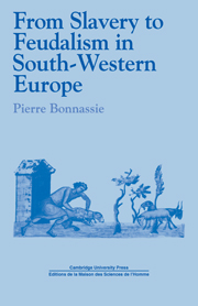 From Slavery to Feudalism in South-Western Europe